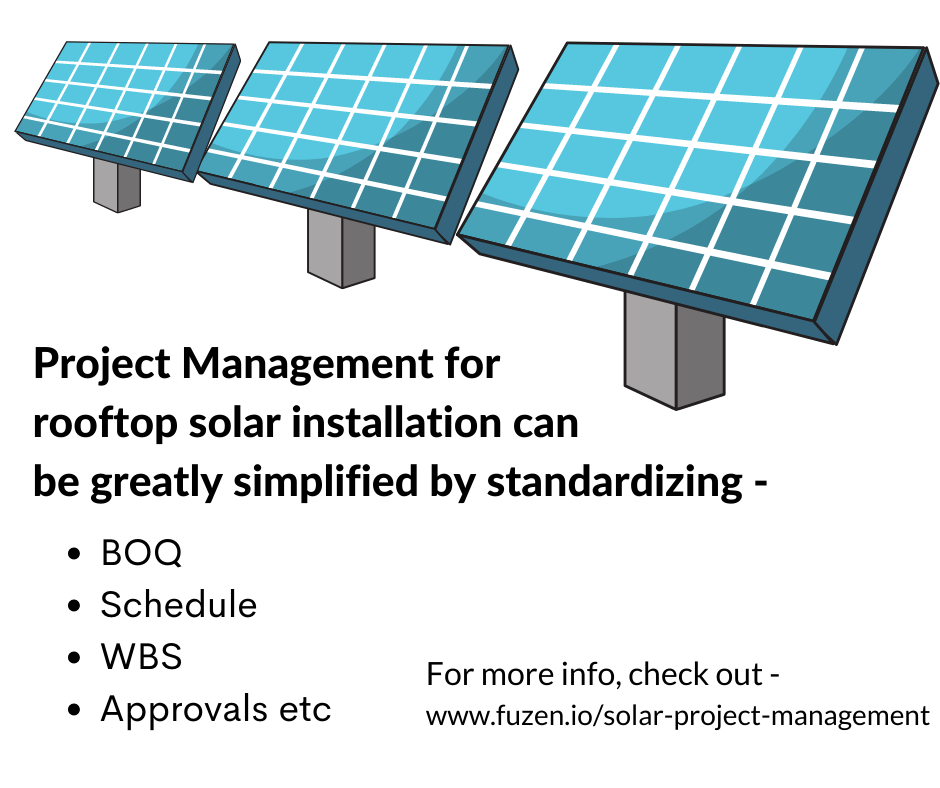 standardization can be achieved with the right solar project management software