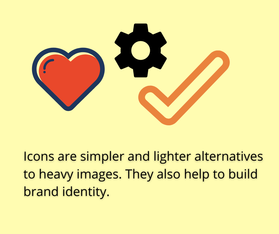 benefits of using icons in emails
