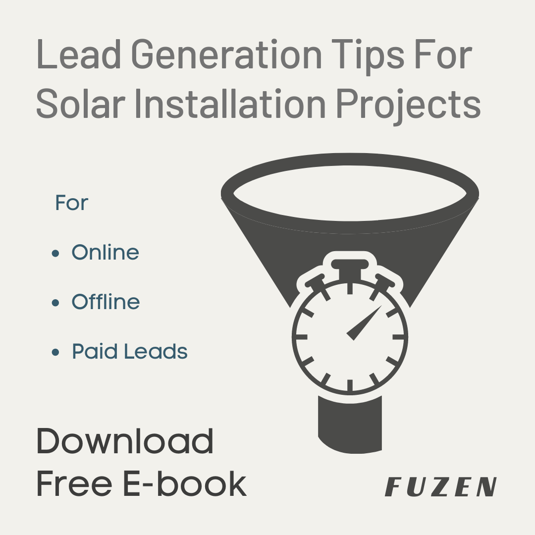 Solar Project Lead Generation